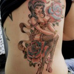 design-of-tattoos-pinup-girl