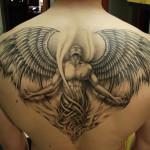 Angel rising tattoo