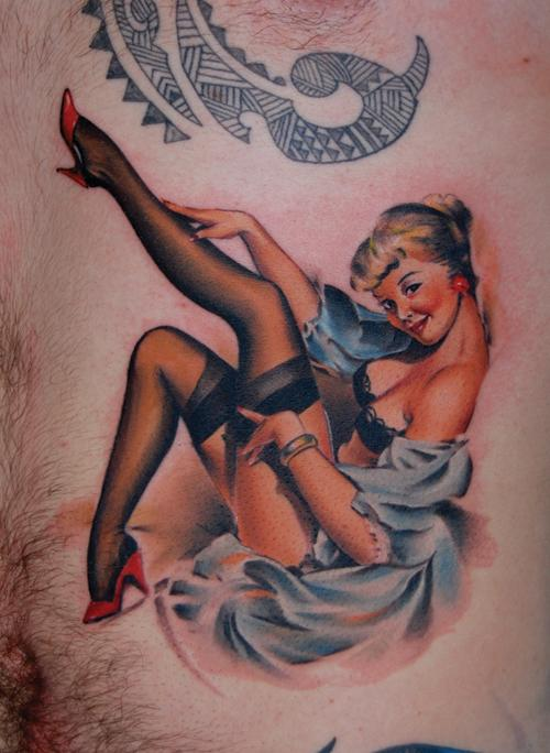 pin-up-girl-tattoo-designs - Design of TattoosDesign of Tattoos