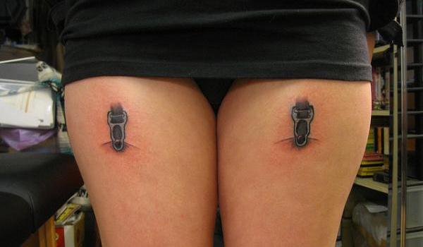 simple garter tattoo - Design of TattoosDesign of Tattoos