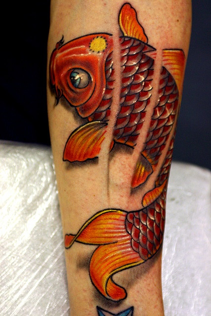 Small koi tattoo design of tattoosdesign of tattoos for Amazing koi fish