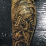 leg_steampunk_tattoo