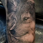 Wolf Tattoo in 3D