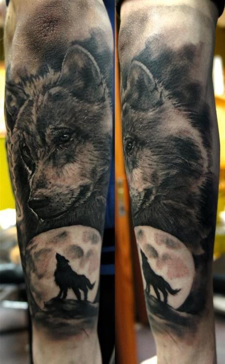 sleeve wolf tattoo design of tattoosdesign of tattoos. Black Bedroom Furniture Sets. Home Design Ideas