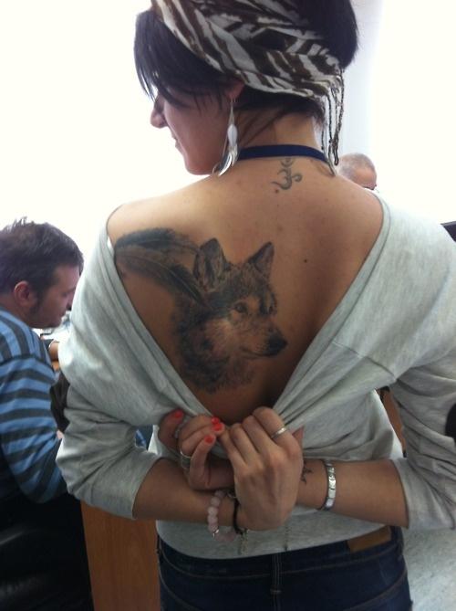 Sexy Wolf Tattoo