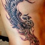 Masculine Phoenix Tattoo