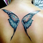 Butterfly Wings Tattoo