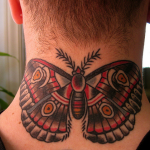 Manly Butterfly Tattoo