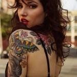 Butterfly Tattoo on Sleeve