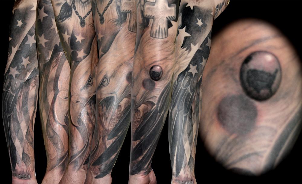 Eagle Tattoo by Biagio