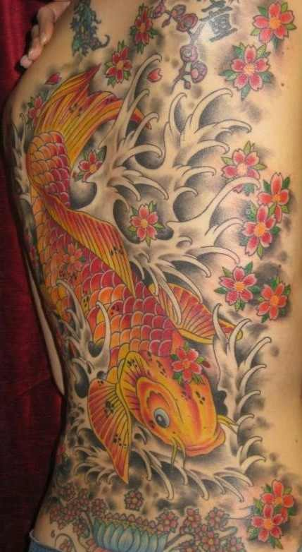 chinese tattoo koi fish design of tattoosdesign of tattoos. Black Bedroom Furniture Sets. Home Design Ideas