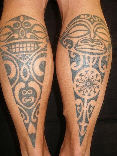 Traditional Maori Tattoos Leg: Design Of TattoosDesign Of Tattoos
