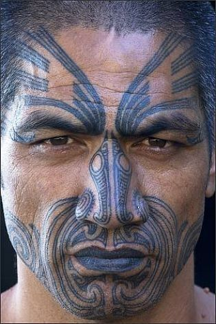 traditional maori tattoo on face design of tattoosdesign of tattoos. Black Bedroom Furniture Sets. Home Design Ideas
