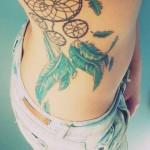 Large dreamcatcher tattoo design