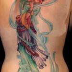 geisha tattoo pretty design