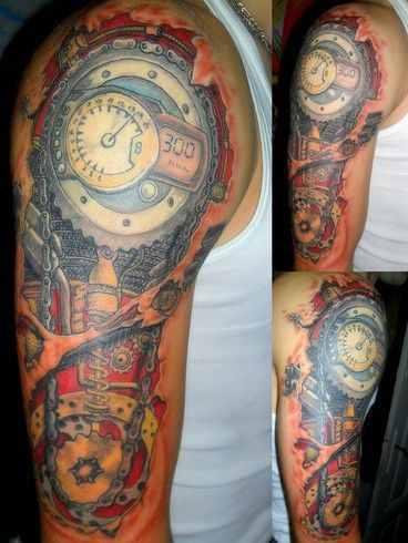 Biomechanical hand tattoo design of tattoosdesign of tattoos for Biomechanical hand tattoo designs