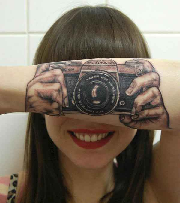 photography 3D tattoo