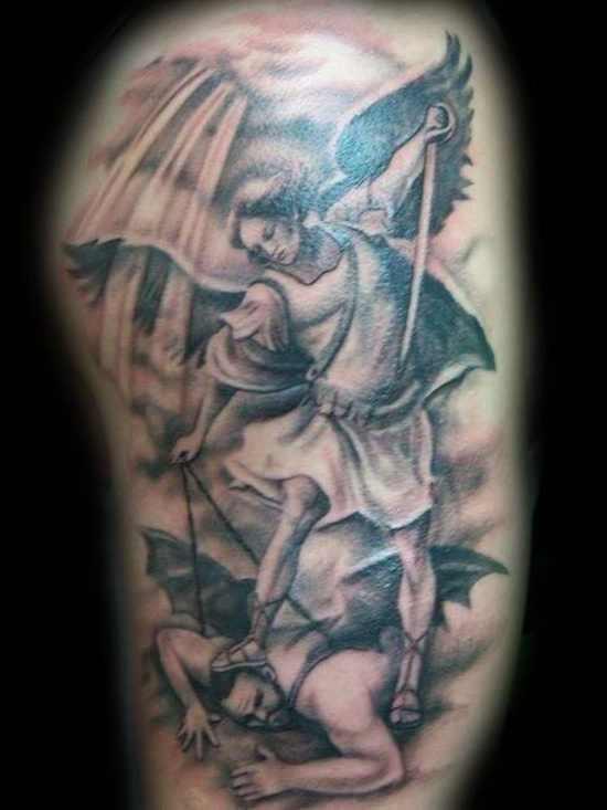 Angel Warrior Tattoo Design Design Of Tattoosdesign Of Tattoos