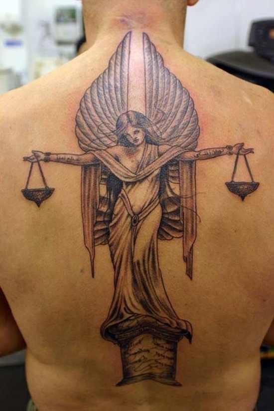 Fullback libra tattoo design design of tattoosdesign of for Tattoo donne guerriere