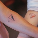 minimalist tattoo for couples