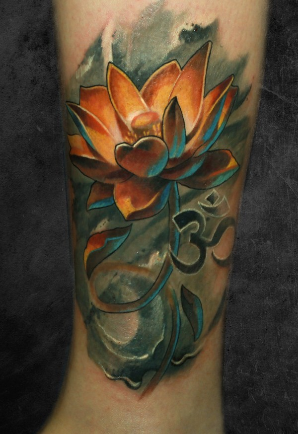 dark lotus tattoo design of tattoosdesign of tattoos