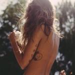 delicate minimalist tattoo design