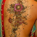 glitter tattoo fullback design