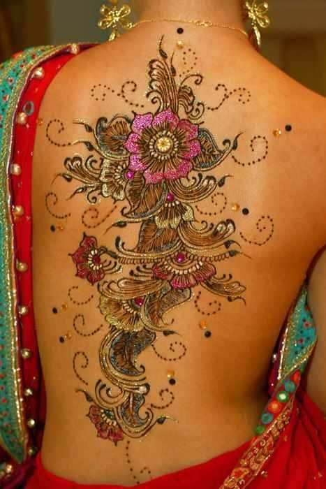 fullback glitter tattoo - Design of TattoosDesign of Tattoos