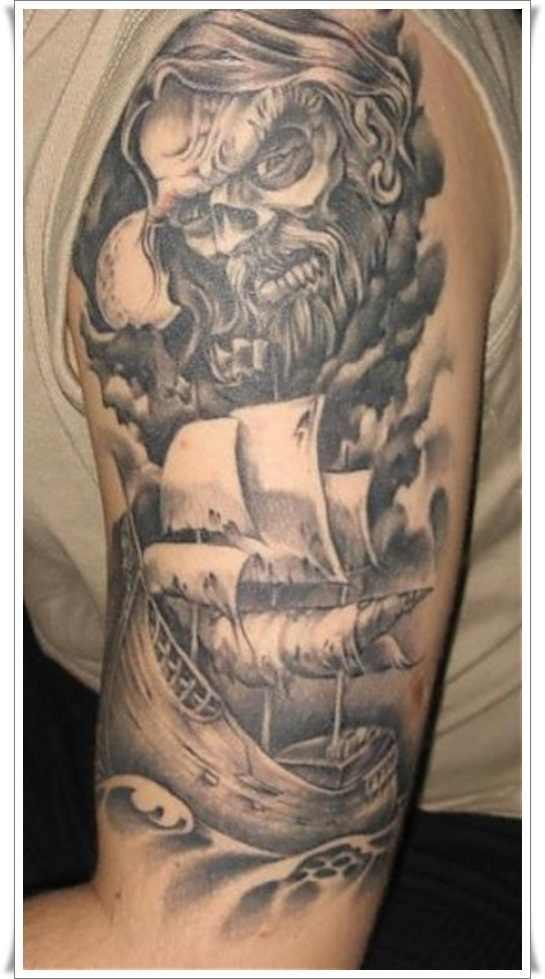 halfsleeve viking warrior tattoo design design of tattoosdesign of tattoos. Black Bedroom Furniture Sets. Home Design Ideas
