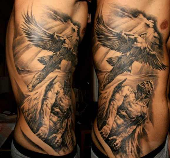 icarus greek mythology tattoo design of tattoosdesign of tattoos. Black Bedroom Furniture Sets. Home Design Ideas