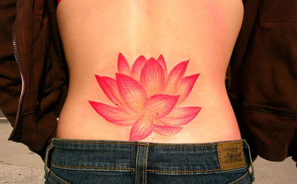 simple pink lotus tattoo for women design of tattoosdesign of tattoos rh designoftattoos com pink lotus tattoo designs pink lotus tattoo wrist