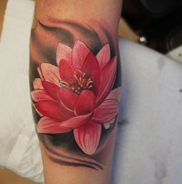 red lotus tattoo design on arm design of tattoosdesign of tattoos. Black Bedroom Furniture Sets. Home Design Ideas