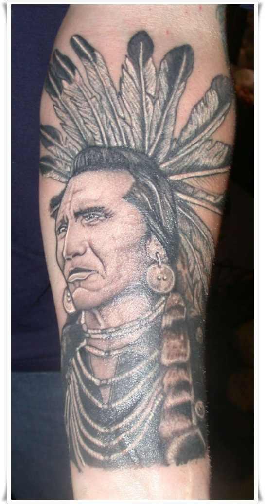 native american warrior tattoo designWarrior Tattoos