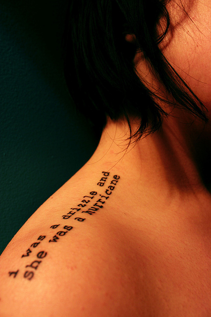quote love tattoo