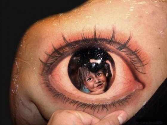 realistic eye 3d tattoo design of tattoosdesign of tattoos. Black Bedroom Furniture Sets. Home Design Ideas