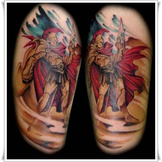 21 Fearless Warrior Tattoos Design Of Tattoosdesign Of Tattoos