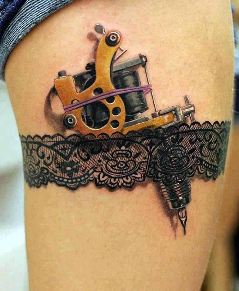 sweet 3D tattoo design