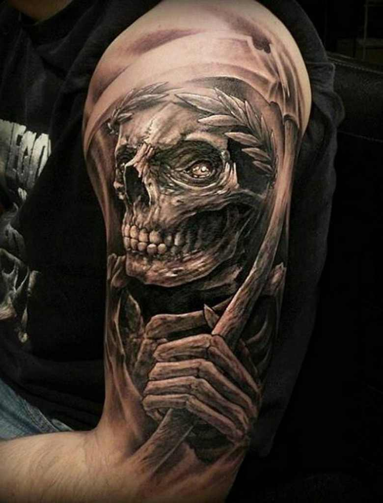 Skull 3d Tattoo Design Design Of Tattoosdesign Of Tattoos