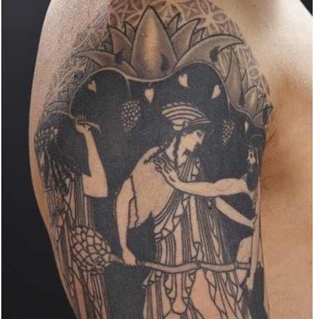 Ulysses Greek Tattoo Design Of Tattoosdesign Of Tattoos