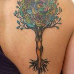unique tree tattoo