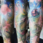 David Klvac nature tattoo
