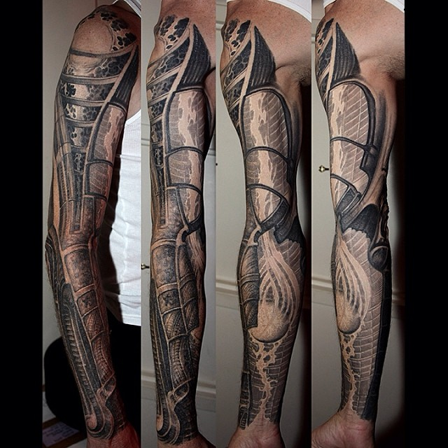 Design Of Tattoosdesign Of Tattoos: Full Sleeve Tattoo Design By Paul Booth