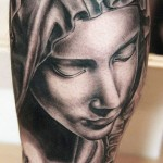Andy Engel beautiful portrait tattoo