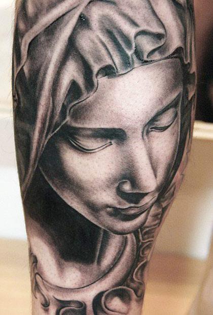 Andy Engel beautiful portrait tattoo