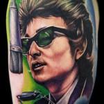Cecil Porter cool portrait tattoo