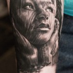 Andy Engel creative portrait tattoo