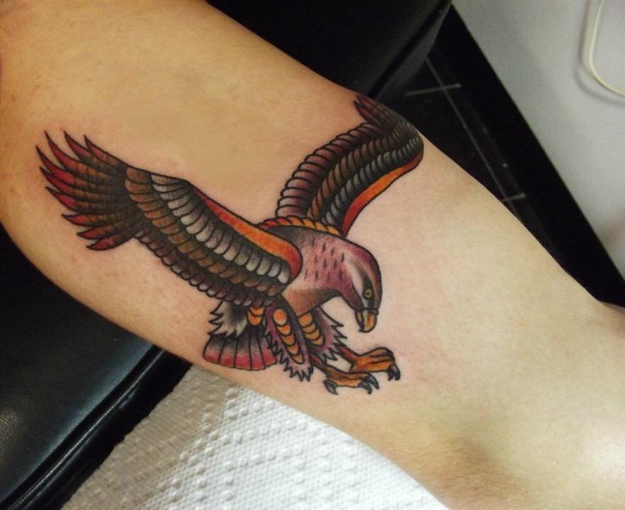 eagle tattoo by matt houston design of tattoosdesign of tattoos. Black Bedroom Furniture Sets. Home Design Ideas