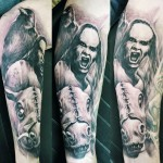 David Klvac full sleeve tattoo