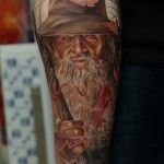 Gandalf full sleeve designed by Dmitriy Samohin