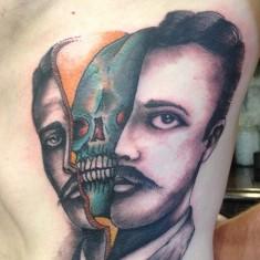 Myles Karr ingenious portrait tattoo